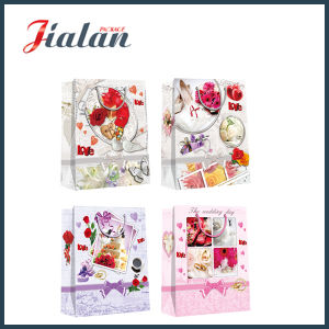 Matte Laminated Coated Paper Wedding Shopping Carrier Gift Paper Bag pictures & photos