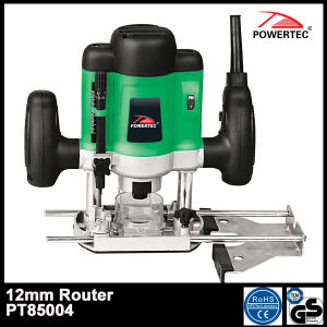 Powertec 1200W 8mm Electric Wood Router (PT85004) pictures & photos