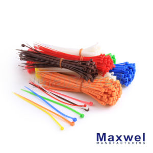 Nylon 66 Self-Locking Plastic Cable Ties pictures & photos