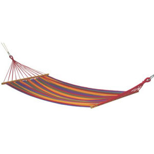Canvas Hammock with Wood Roder pictures & photos