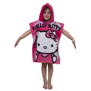 Cartoon Design of Kids Bath Poncho Beach Towel pictures & photos