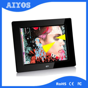 8 Inch Digital Photo Frame Tabletop Media Player with Motion Sensor pictures & photos