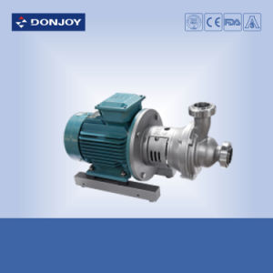 Ss 316 Sanitary Self-Priming Pump with Sic/Sic Mechanical Seal pictures & photos