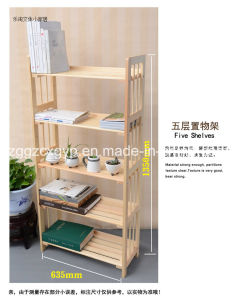 Easy Style Wooden Bookshelf/Many Styles Are Available Cx-BS21 pictures & photos