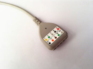 MEK dB9pin Snap&Clip DIN 5 Trunk ECG Cable pictures & photos