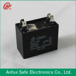 Good Sale Fan Capacitors Cbb61 pictures & photos