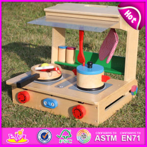 2015 Brand New Wooden Cooking Toy, Wooden Kitchen Cooking Toy, Kids′ Wood Kitchen Cooking Toy, Wood Cooking Toy Set W10c177 pictures & photos