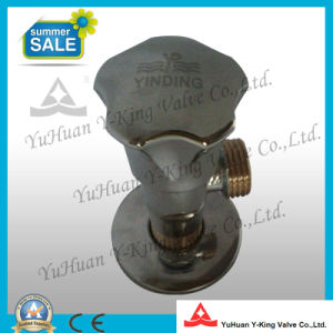 Brass Angle Ball Valve with Slow Open Type pictures & photos