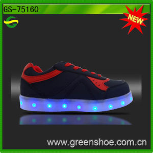 LED Light up Kids Shoes Chargeable pictures & photos