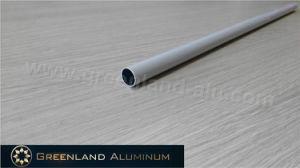 Aluminium Round Bottom Tube Profile for Zebra Blinds pictures & photos