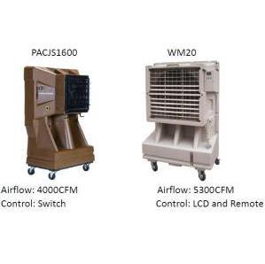 Water Air Cooler/ Portable Air Cooler with Cooling Pad pictures & photos
