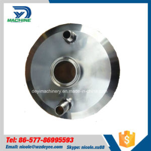 Stainless Steel Sanitary Tri Clamp End Cap with Fittings (DY-C046) pictures & photos
