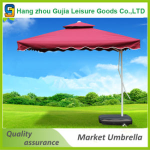 Garden Sunshade Umbrella Parasol Outdoor with Base pictures & photos