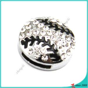Silver Baseball Slide Charms Bracelet Charms