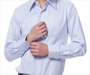 Men Formal Wrinkle-Free Cotton Business Dress Shirts pictures & photos