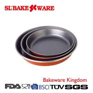 3PCS Round Pan Sets Carbon Steel Nonstick Bakeware (SL BAKEWARE) pictures & photos