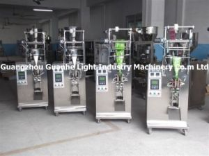 Automatic Side-Sealed Sachet Liquid Packer (3-side or 4-side sealed sachet) (DXD-50Y) pictures & photos