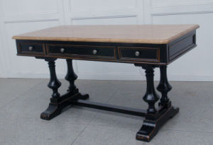 High-Quality Desk Antique Furniture with Drawers pictures & photos