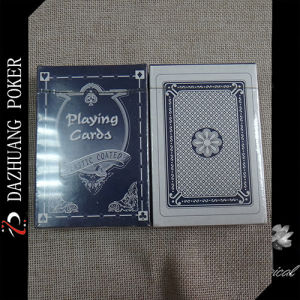 Blue Box Plastic Coated Playing Cards pictures & photos