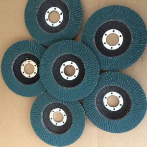 Metal Grinding Zirconium Oxide Flap Disc pictures & photos