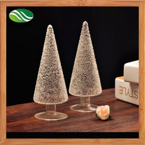 Home Decoration Glass Christmas Tree pictures & photos