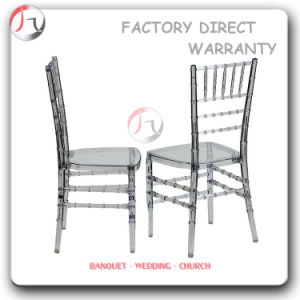 Black Transparent High-Quality Hotel Garden Chair (RT-77) pictures & photos
