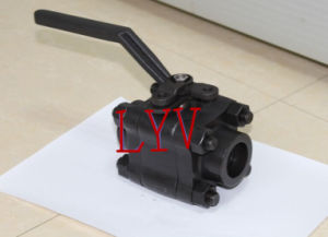 Little Size Lever Operated Ball Valve pictures & photos