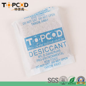 FDA Authorised 1g Desiccant Silica Gel with Non-Woven Fabric Packing Garment/Footwear/Gift Box Used pictures & photos