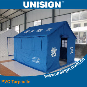 Waterproof Relif Tent Tarpaulin (UCT1122/680) pictures & photos