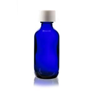 . 5oz. 1oz. 2oz. 4oz. Cobalt Blue Essential Oil Glass Bottle with Glass Dropper pictures & photos