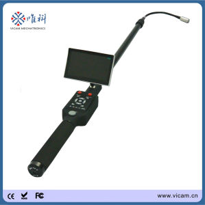 Telescopic Pole Sewer Pipe Inspection Camera for Car and Roof Detection (V5-TS1308D) pictures & photos