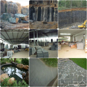 Basalt Andesite Tile Stone pictures & photos