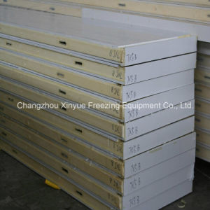 Galvanized Steel Polyurethane PU Sandwich Panel for Cold Storage Room pictures & photos