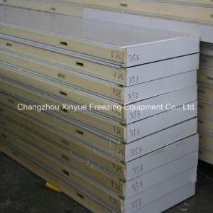 Galvanized Steel Polyurethane PU Sandwich Panel for Cold Storage Room pictures & photos