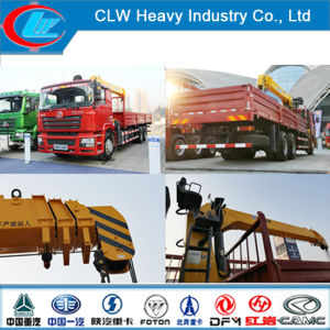 Top Service 6X4 290HP Shacman Truck with 10 Ton Crane pictures & photos