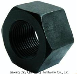 Heavy Hex Nuts (1/4′-4′ Black ASTM A563) pictures & photos