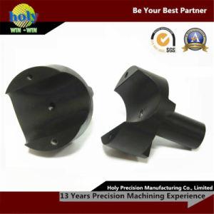 CNC Manufacturer Machined Parts 6063 Black Anodized CNC Aluminum Parts pictures & photos