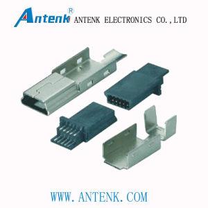 Mini USB 10m Solder B Type Connector (3 PIECE SET) pictures & photos