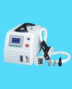 Q-Switched ND YAG Laser 1064 532nm Tattoo Facial Treatment SPA Equipment