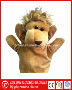 Plush Hand Puppet of Soft Lion for Baby Education pictures & photos
