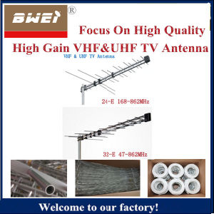 32-E New Outdoor Digital TV Antenna VHF & UHF pictures & photos