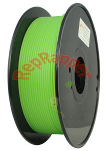 Well Coiled PLA 3.0mm Green 3D Printing Filament