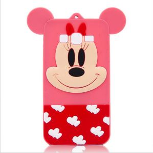 3D Cute Cartoon Mickey Minie Silicone Soft Phone Case for iPhone 6splus 7plus (XSD-069) pictures & photos