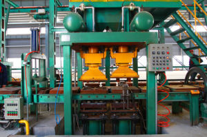 Horizontal Parting Iron Mold Coated Sand Casting Production Line pictures & photos