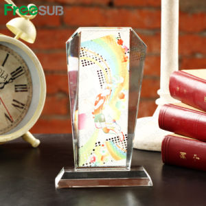Freesub Sublimation Blank Glass Crystal Photo Frame (BXP-02) pictures & photos