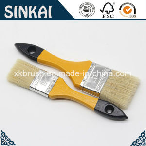 Natural Pig Hair Brush with Wooden Paintbrush pictures & photos