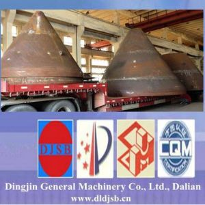 Pressure Vessel Conical End with Cladding Plate pictures & photos