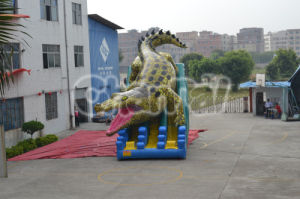 Hot Sale High Quality Dinosaur Inflatable Slide Chsl290 pictures & photos