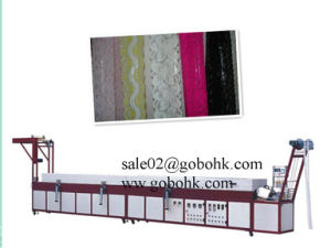 Automatic Silicone Lace Coating Machine pictures & photos