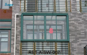 Classic Aluminum Sliding Window in China Saga Window